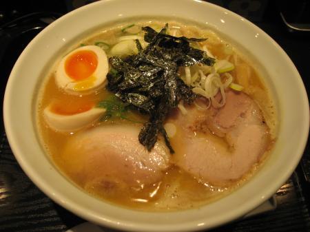 味玉和風鶏麺