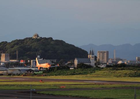 県営名古屋空港 FDAオレンジ