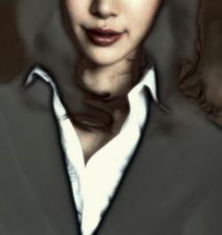 s松本黒服女胸上b1250