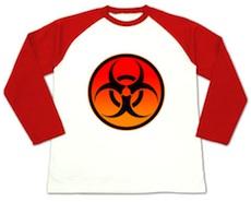 生物化学兵器Tシャツ