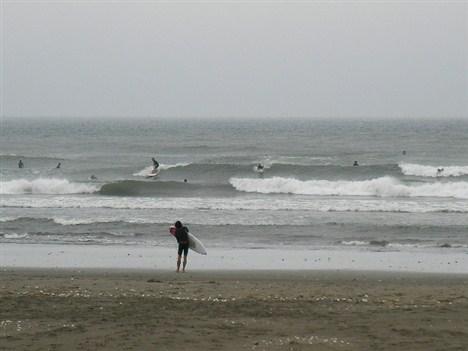サーフィン千葉北九十九里無料波情報/片貝漁港