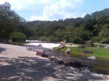 公園内日本庭園