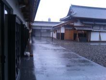 雨が・・・風が・・・。
