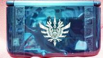 MH4 3DSLL ゴア・マガラブラック本体