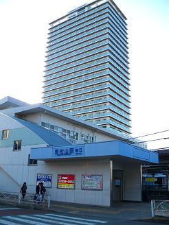 西武新宿線の東村山駅@東村山市A