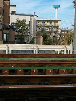 西武池袋線の入間市第5踏切道@入間市H