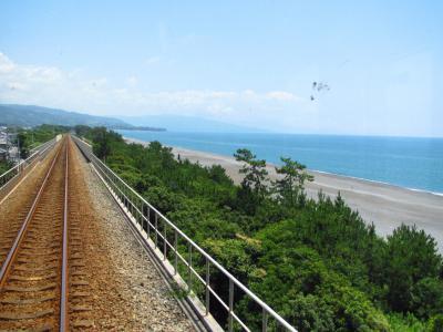 琴ヶ浜と太平洋