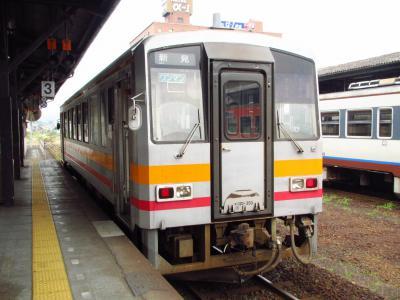 姫新線新見行キハ120形300番台
