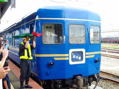 函館駅機関車付け替え