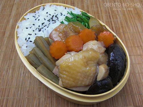 鶏すき弁当01