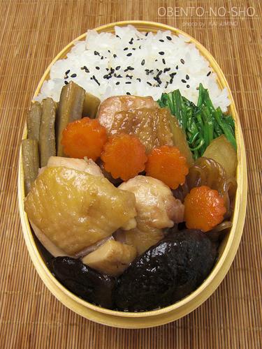 鶏すき弁当02