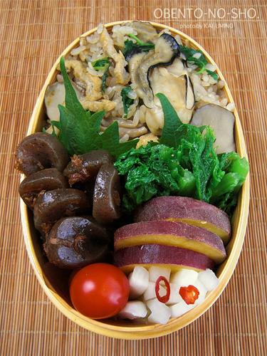 牡蠣の炊き込みご飯弁当03
