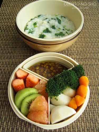 温野菜&七草粥弁当02