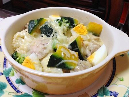 温野菜のチーズグラタン