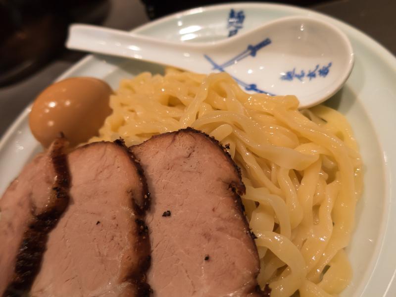 麺屋武蔵、麺アップ