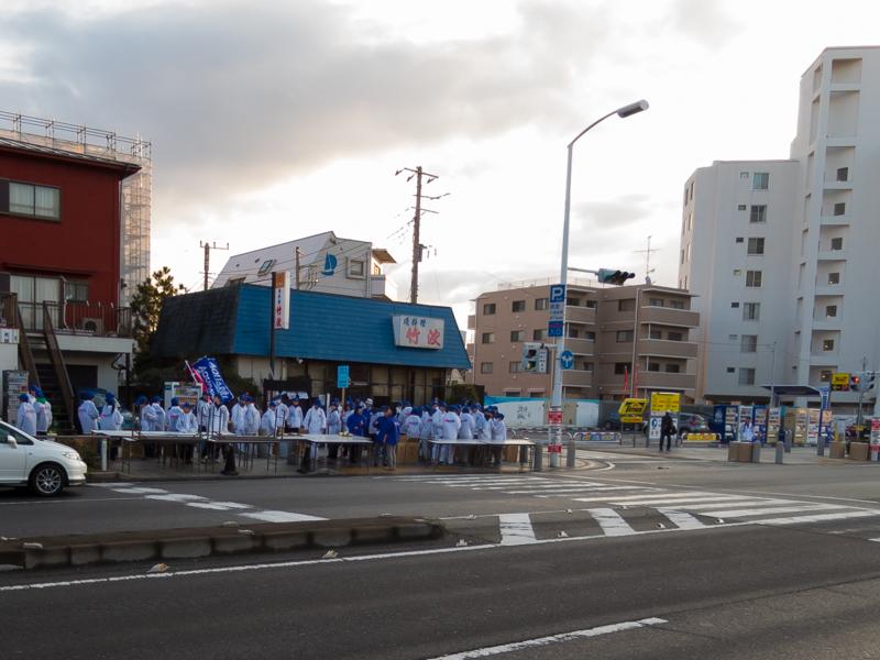 湘南藤沢市民マラソン、ボランティアスタッフ(1)
