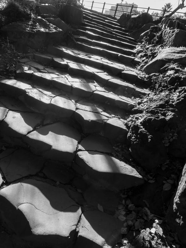 日比谷公園・石段