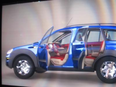 自動車3D運転席見える