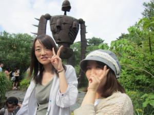 屋上のロボット兵2
