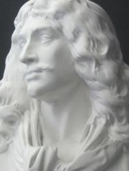 モリエール石膏像