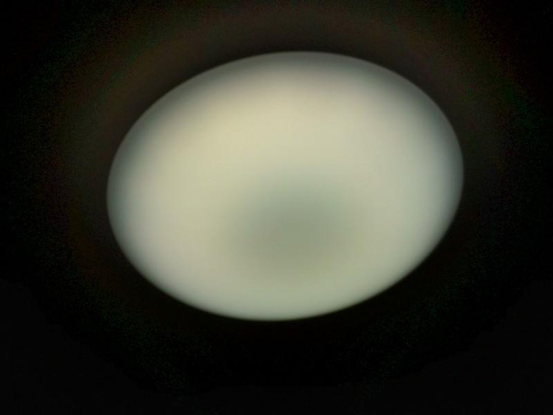 山口市阿知須 K様邸 シャープ LEDシーリングライト DL-C208V 取付