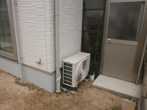 山口市阿知須 F様邸 エアコン移設工事