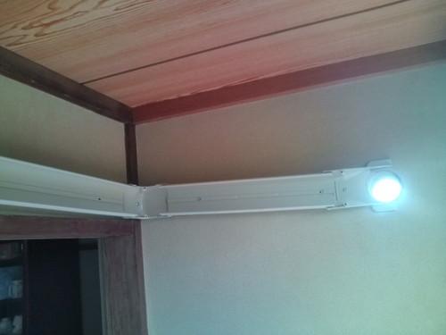 山口市須川 H様邸 日立ステンレスクリーン白くまくん RAS-SX56B2 新規取付工事