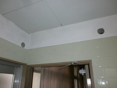 山口市阿知須 O施設様 日立ステンレスクリーン白くまくん RAS-SX28B 新規取付工事