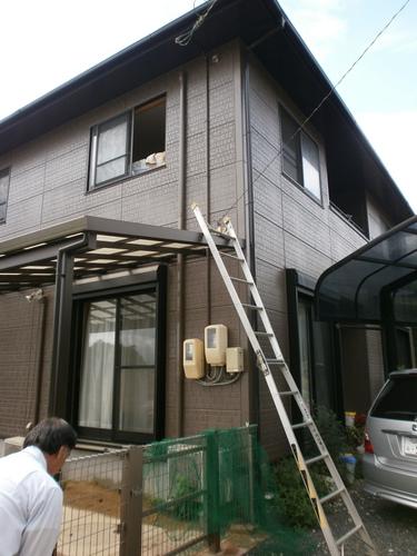 山口市阿知須 K様邸 シャープ エアコン AY-Z25SD 2台取替工事