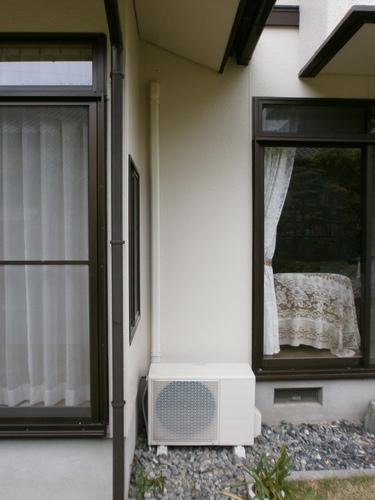 山口市阿知須 T様邸 エアコン2階から1階へ移設工事