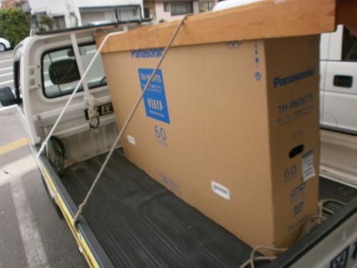 山口市阿知須 A様邸 パナソニック最新テレビTH-P60VT5&DMR-BZT920K納品