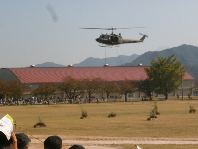 陸上自衛隊山口駐屯地創設57周年記念行事