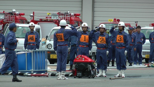 平成24年度山口市消防操法大会