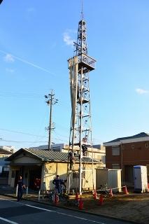 岡崎市柱6丁目の火の見櫓