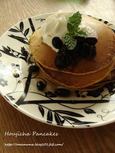 Houjicha Pancakes