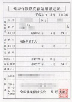 限度 額 適用 認定 証 協会 けんぽ