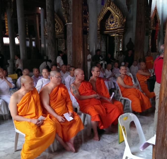 タイメガネボランティア2013タイ僧侶