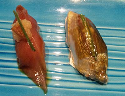 博多でお寿司1