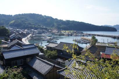 真鍋島 船着き場を眺める