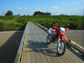 8月冠水橋