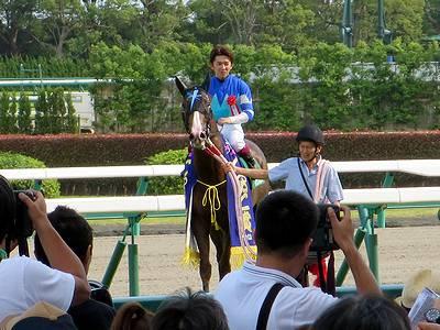 CBC賞優勝のマジンプロスパーと福永祐一騎手