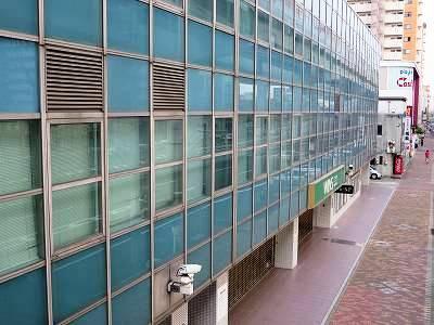 西側から見たWINS名古屋本館部分