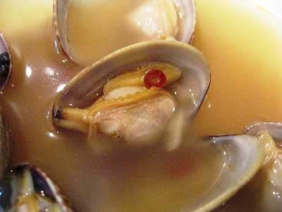アサリの中華風酒蒸し2