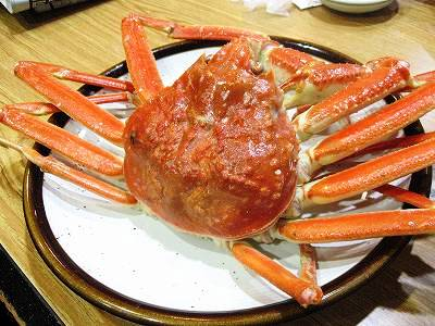 ゆでタラバ蟹1