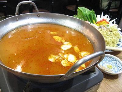 キムチちゃんぽん鍋1
