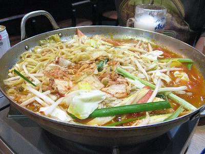 キムチちゃんぽん鍋2