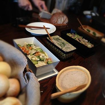 ゆりり亭お料理1