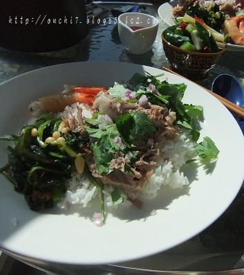 アジアン豚肉のっけ飯2