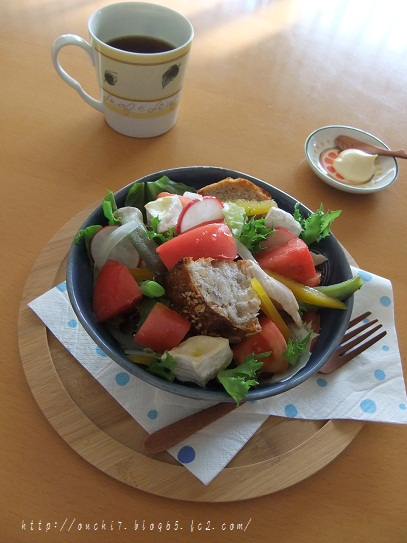 トマトパンサラダ1