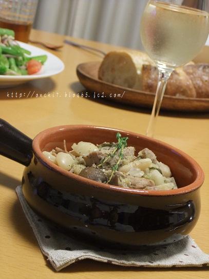 豚肉と白いんげん豆煮込み1